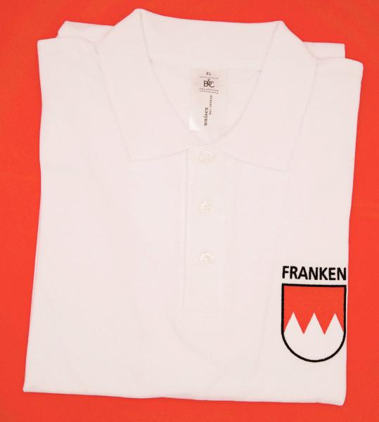 Franken-Polo - XL - weiß