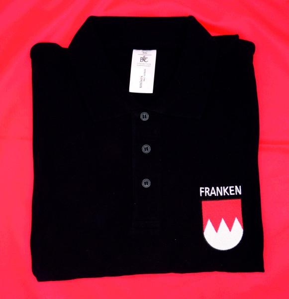 Franken-Polo - XXL - schwarz